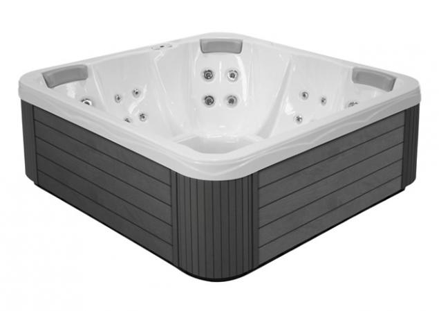 MyLine Spa Sun Family Plug&Play Whirlpool Jacuzzi Spa von Wellis